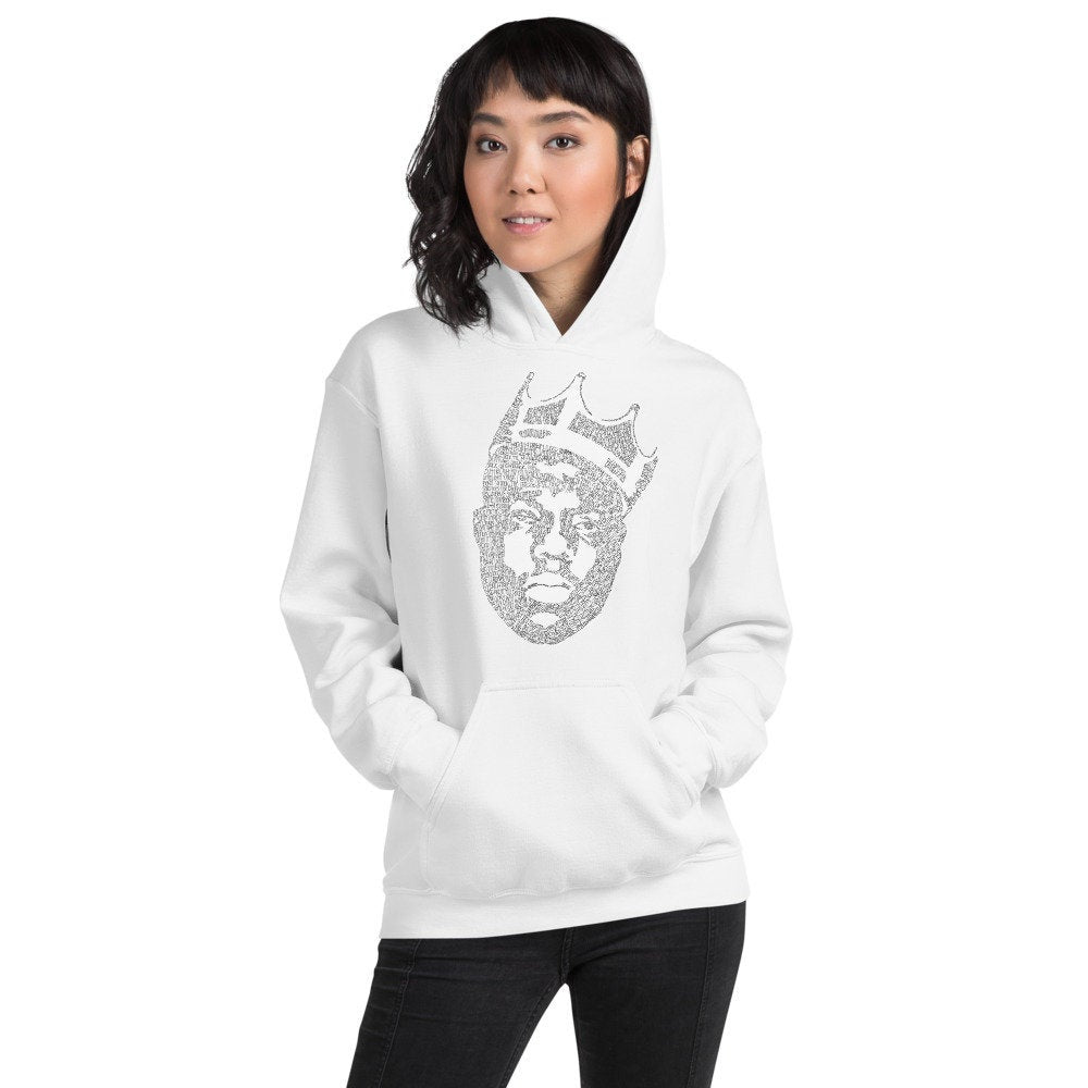 Biggie Smalls Hoodie - the Notorious B.I.G. - www.thedesigntank.com