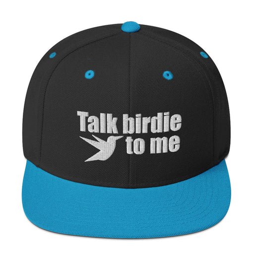 Talk birdie to me Snapback Hat - www.thedesigntank.com