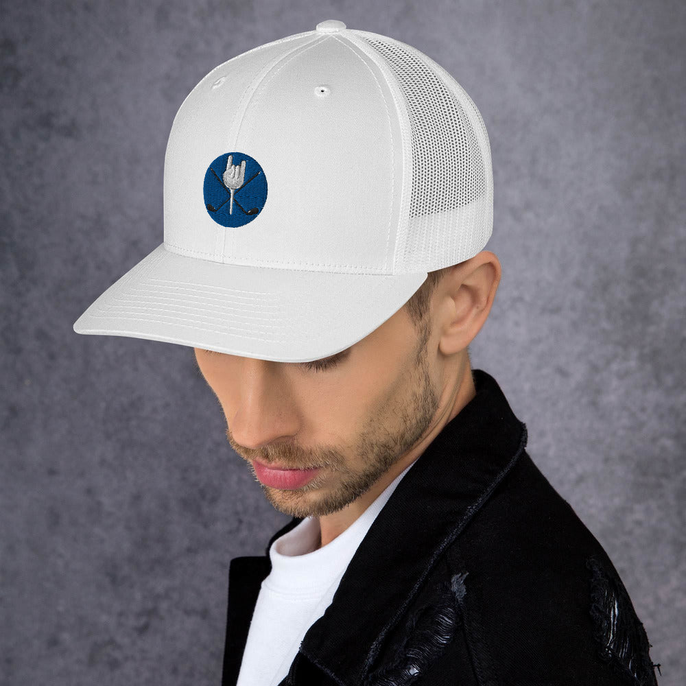 TopTricksGolf Trucker Cap for Golfers - Design Tank