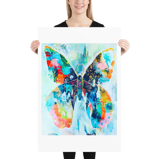 Butterfly Print by Tracy Verdugo on Fine Art Paper - www.thedesigntank.com