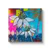 Mixed Media Flower Print on Canvas - www.thedesigntank.com