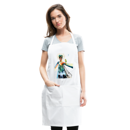 Stand in my Radiance Artist Apron by Tracy Verdugo - Design Tank