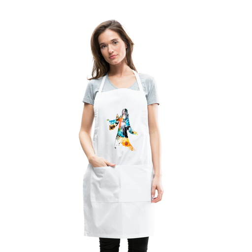 Be the Change Artist Apron by Tracy Verdugo - Design Tank