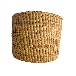 Fair trade basket ethically handmade by empowered artisans in East Africa.