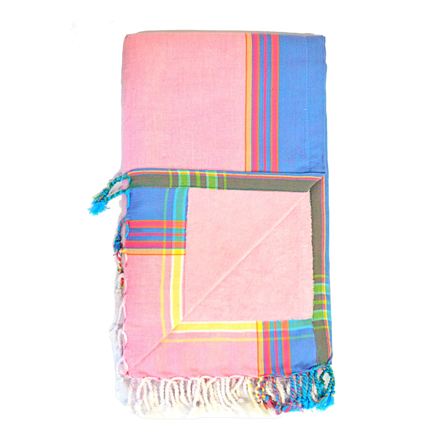Light Pink Kenyan Towel