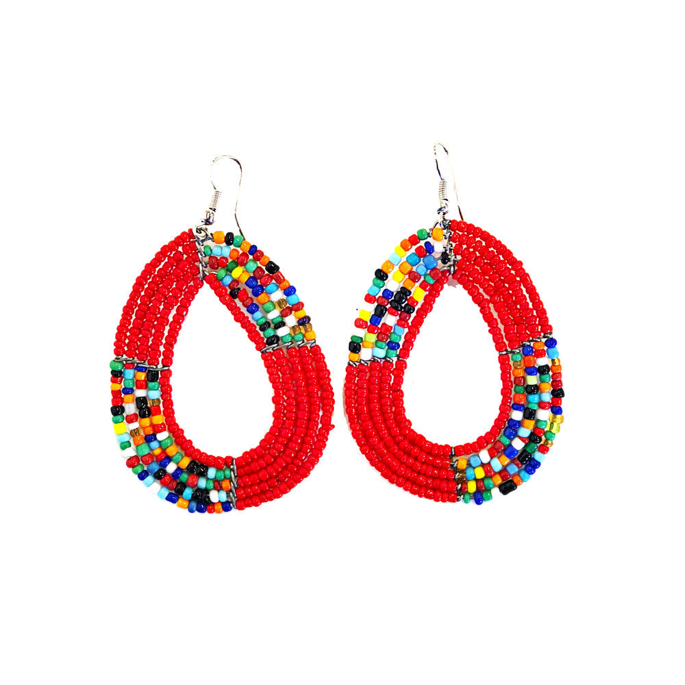 Maasai Hoop Earrings
