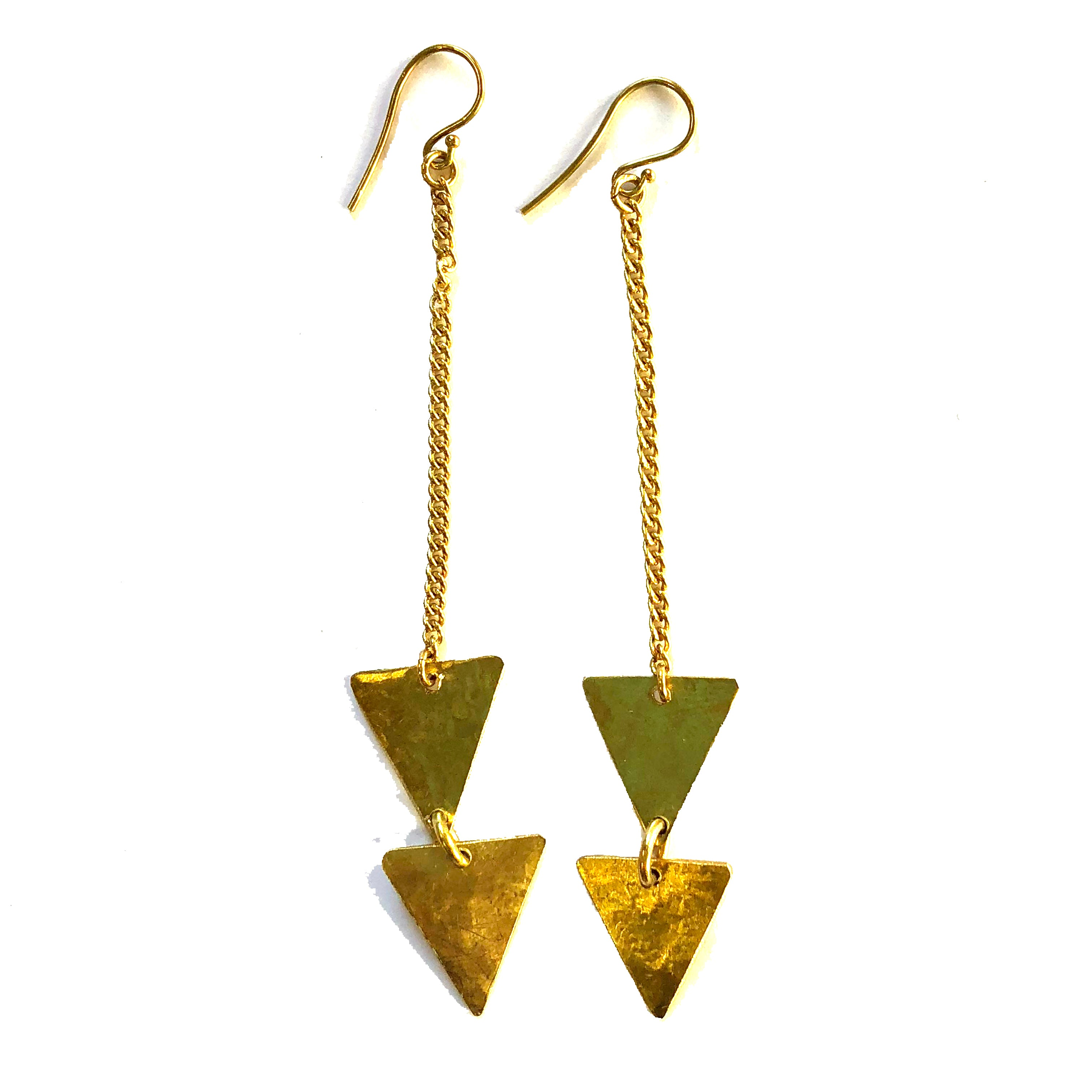 Fair trade earrings ethically handmade by empowered artisans in East Africa.