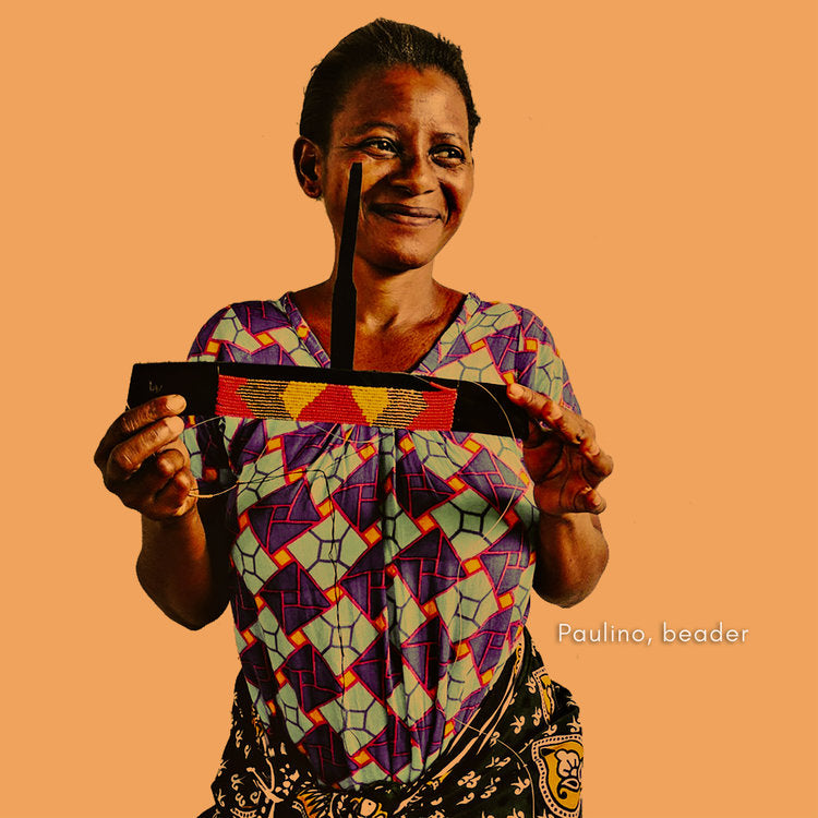 Paulino. Fair trade accessories ethically handmade by empowered artisans in East Africa.