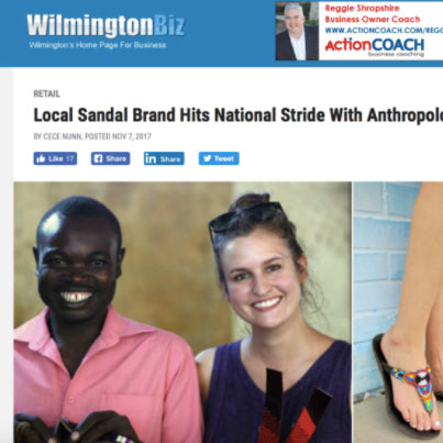 Greater Wilmington Business Journal. Fair trade accessories ethically handmade by empowered artisans in East Africa.