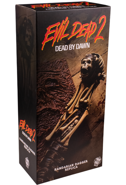 **PRE ORDER** Evil Dead 2: Kandarian Dagger Prop with Collectors Box