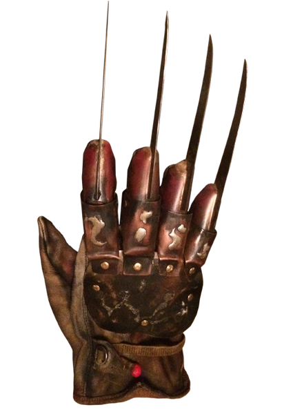A Nightmare on Elm Street 4 - The Dream Master -Deluxe Freddy Krueger Glove