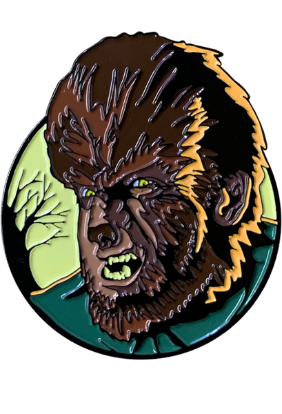 Universal Classic Monsters Wolfman Enamel Pin