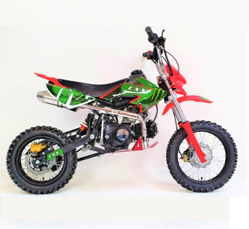 125cc - CXX - Electric/Kick Start - Red