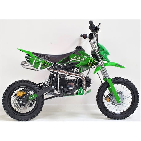 125cc - CXX - Electric/Kick Start - Green