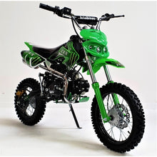 Load image into Gallery viewer, 125cc - CXX - Electric/Kick Start - Green