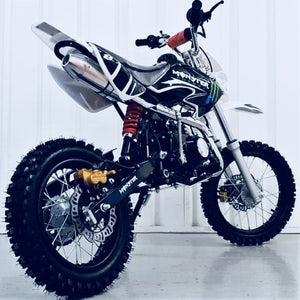 125cc - MXB - Electric/Kick Start - White