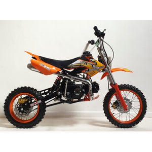 125cc - MXB - Kick Start - Orange
