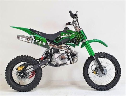 125cc - Big Wheel - Green