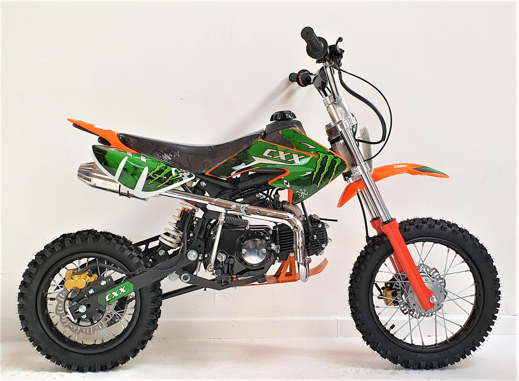 125cc - CXX - Kick Start - Orange