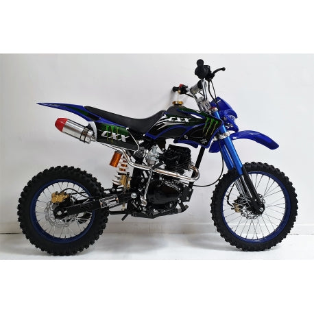 *PRE-ORDER* 150cc - CXX - Electric / Kick Start - Blue