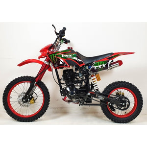 150cc - CXX - Electric / Kick Start - Red