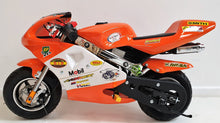 Load image into Gallery viewer, Mini Moto Twin Exhaust Racing Bike Orange