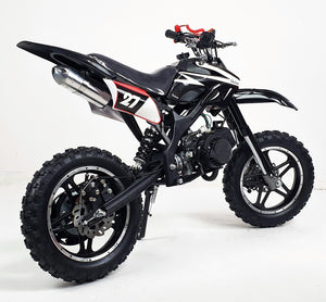*PRE-ORDER* 50cc Mini Dirt Bike Orion - Black