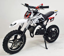 Load image into Gallery viewer, *PRE-ORDER* 50cc Mini Dirt Bike - Orion - White