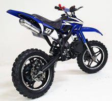 Load image into Gallery viewer, *PRE-ORDER* 50cc Mini Dirt Bike - Orion - Blue