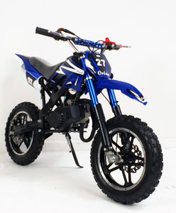 *PRE-ORDER* 50cc Mini Dirt Bike - Orion - Blue