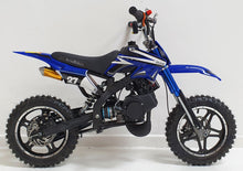Load image into Gallery viewer, 50cc Mini Dirt Bike - Orion - Electric Start - Blue