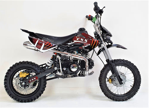 125cc - CXX - Electric/Kick Start - Black