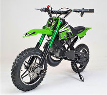 Load image into Gallery viewer, 50cc Mini Dirt Bike - Orion - Electric Start - Green