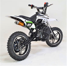 Load image into Gallery viewer, 50cc Mini Dirt Bike - Orion - Electric Start - White