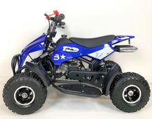 Load image into Gallery viewer, 50cc Mini Quad Bike - Electric Start - Blue