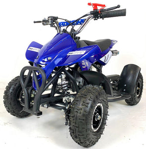 50cc Mini Quad Bike - Electric Start - Blue