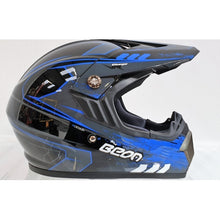 Load image into Gallery viewer, Beon Adult Motocross Helmet - Blue