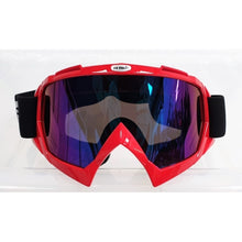Load image into Gallery viewer, Motocross Goggles - Red