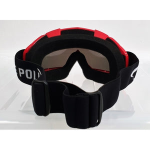 Motocross Goggles - Red
