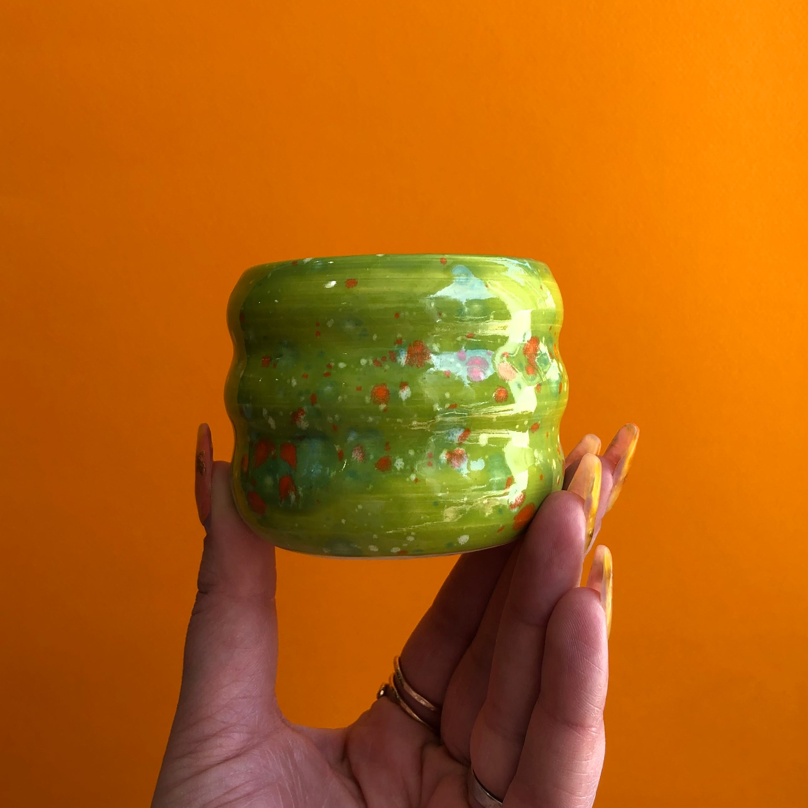 MARINATED OLIVES TRIPPY MINI PLANTER