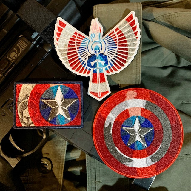 """The Captain"" 3 Patch Set"
