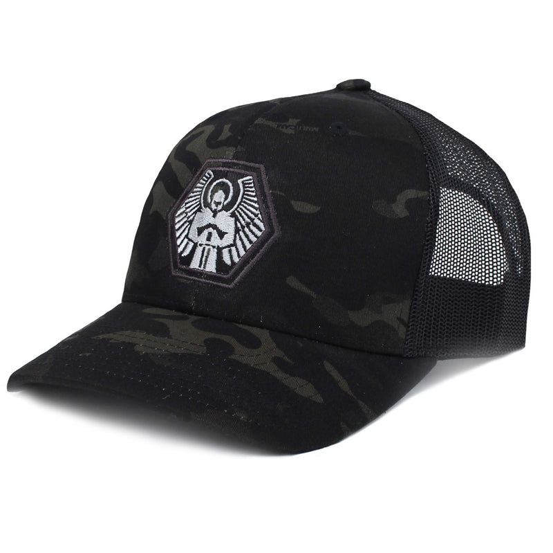 Signature Hex Hat - MULTICAM BLACK Trucker Style Snapback