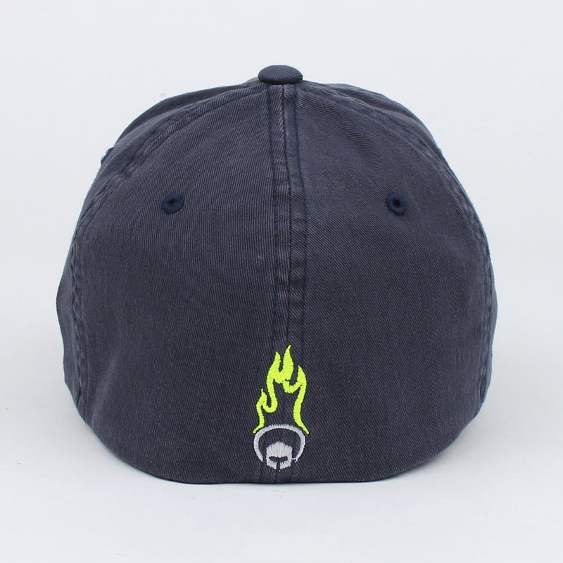 Signature Hex Hat - Navy Blue FlexFit