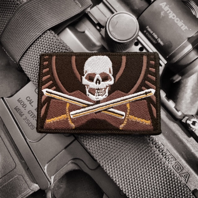 Black Flag Skull Patch - GR Series