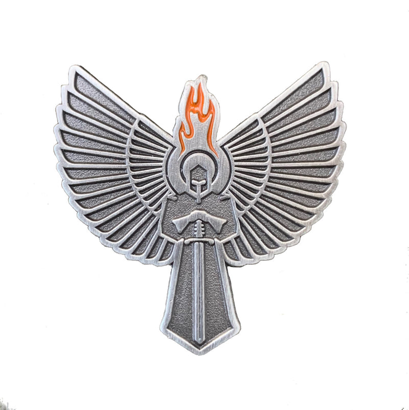 Guardian Defense Icon Lapel Pin
