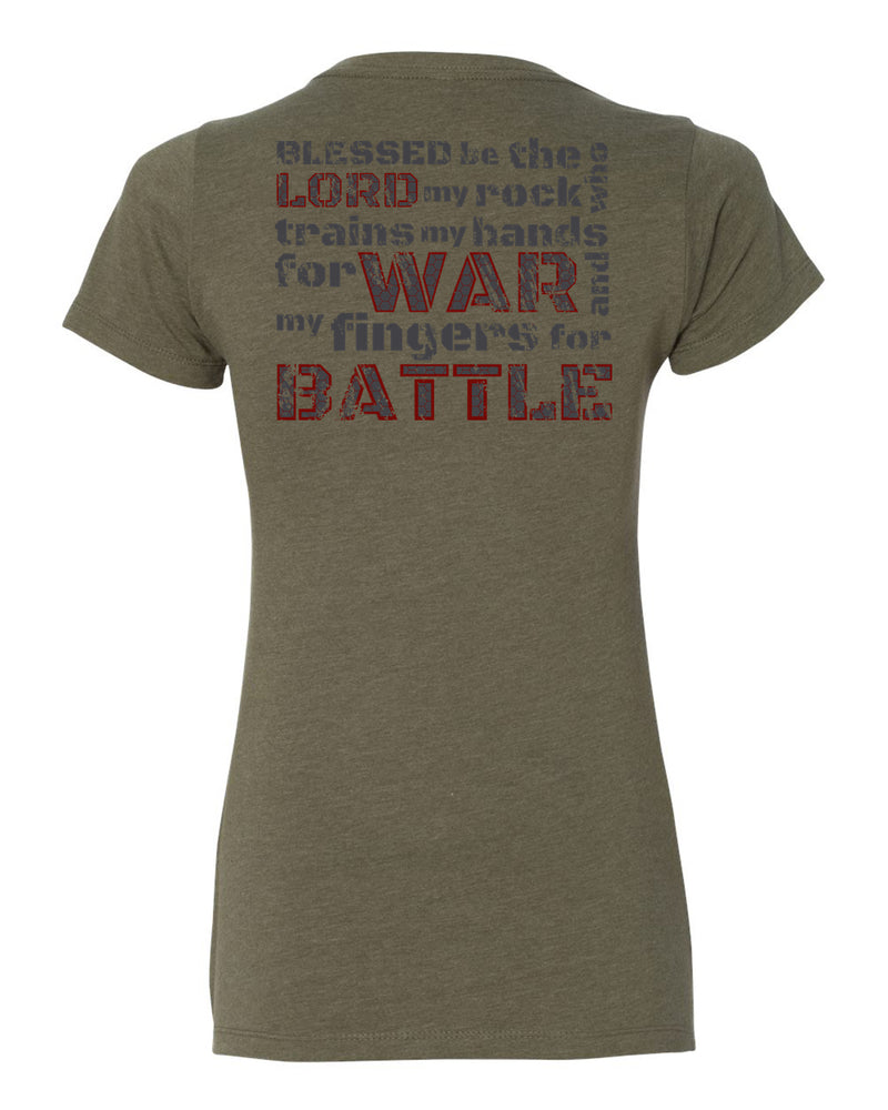 Psalm 144:1 Women's T-Shirt