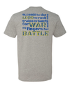 LIMITED EDITION BLUE and YELLOW Psalm 144:1 T-Shirt