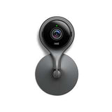Google Nest Cam Indoor black smart home security camera