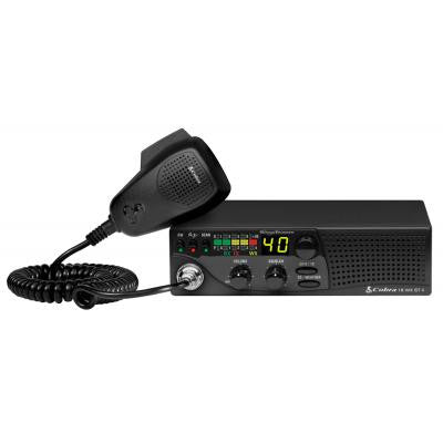 Cobra 18 WX ST IICompact CB Radio with Weather and Soundtracker - Freeway Communications - Canada's Wireless Communications Specialists