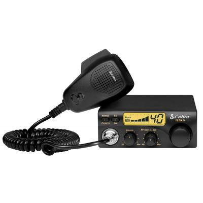 Cobra 19 DX IVCompact CB Radio with Illuminated LCD Display - Freeway Communications - Canada's Wireless Communications Specialists